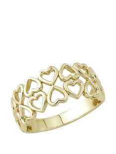 keepsafe-yellow-rhodium-plated-on-sterling-silver-double-heart-ring