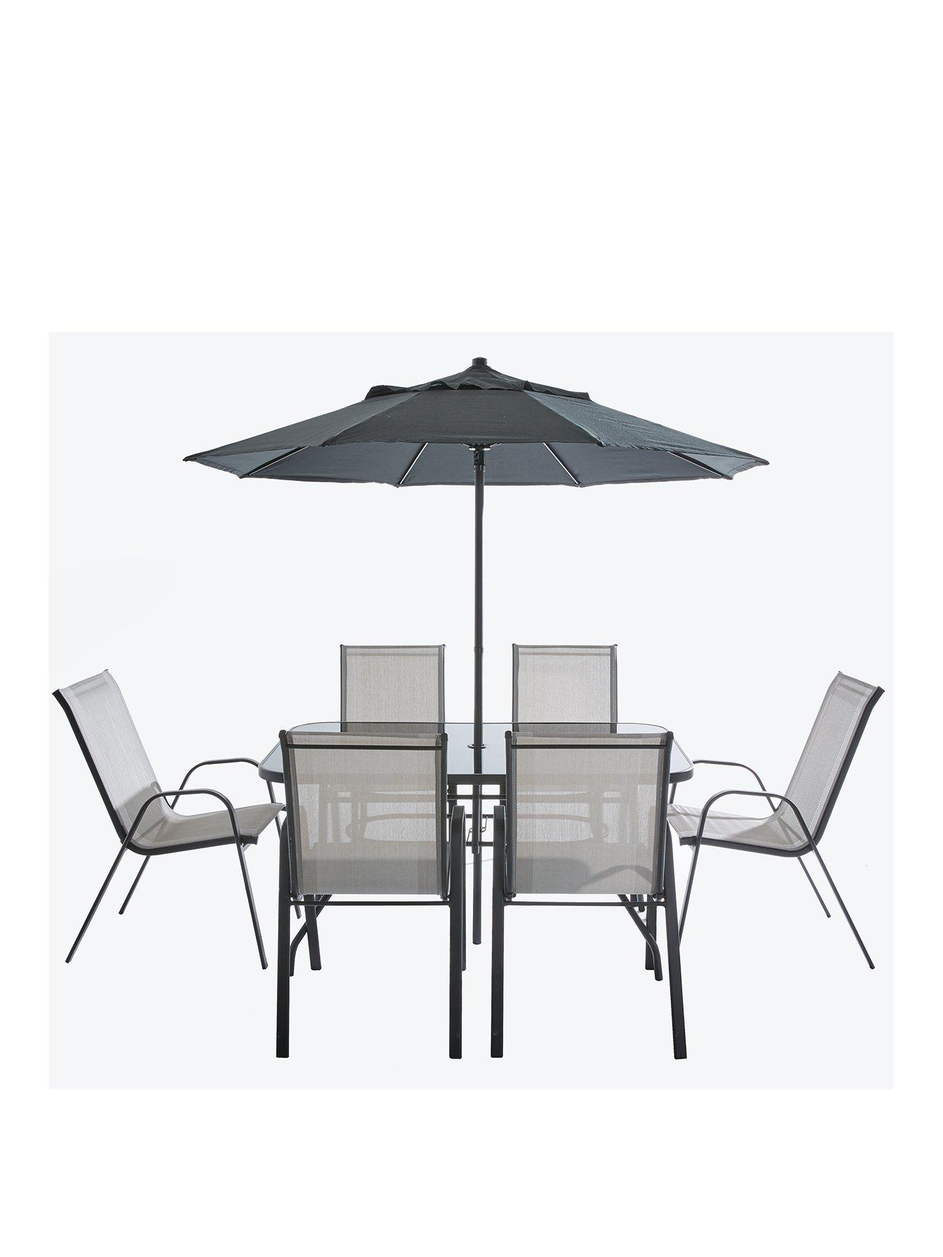 Very Garden Furniture Province 8 piece outdoor dining garden set was 34999 now 19898 httpmediaryivery workwithnaturefo