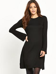 v-by-very-bell-sleeve-jersey-skater-dress