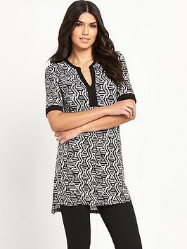 v-by-very-mandarin-collar-tunic