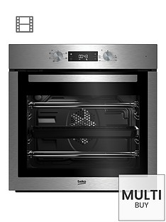 beko-bif16300x-ecosmart-built-in-single-electric-oven-with-optional-connection-stainless-steel
