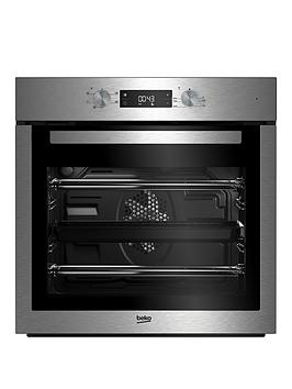 Image of Beko Bif16300X Ecosmart Built-In Single Electric Oven - Oven With Connection