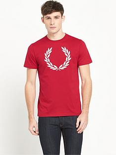 fred-perry-laurel-wreath-t-shirt