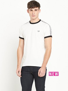 fred-perry-sports-authentic-fred-perry-sports-authentic-taped-ringer-t-shirt