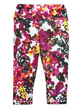 adidas-older-girls-floral-print-capri-tights