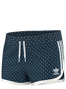 adidas-originals-older-girls-denim-spot-shorts