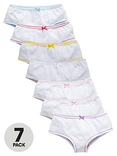 top-class-girls-bow-hipster-knickers-7-pack