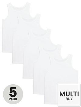 v-by-very-boys-white-vests-5-pack