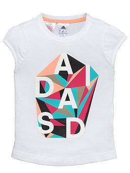 adidas-younger-girls-abstract-logo-tee