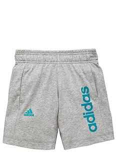 adidas-older-boys-linear-logo-shorts