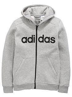 adidas-adidas-older-boys-linear-fz-hoody