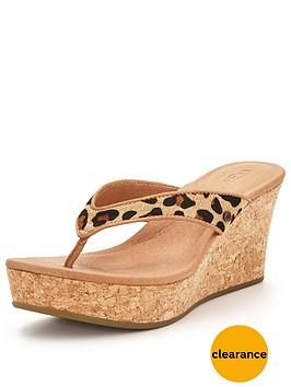 ugg-natassianbspleopard-wedged-sandal
