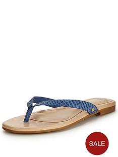 ugg-australia-allarianbspexotic-flip-flop-sandalnbsp