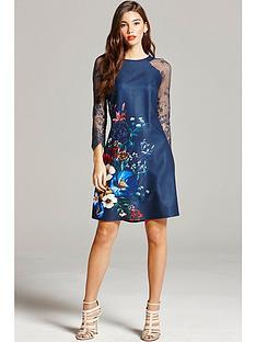 little-mistress-floral-print-and-lace-dress