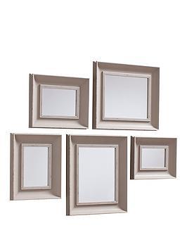 gallery-edgewarenbspset-of-5-mirrors