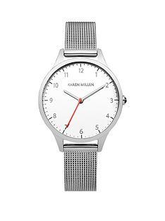 karen-millen-karen-millen-white-dial-silver-tone-stainless-steel-mesh-bracelet-ladies-watch