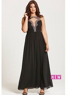 little-mistress-little-mistress-curve-black-embroidered-maxi-dress