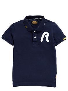 replay-boys-short-sleeve-polo-shirt