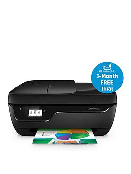 Photo of Hp hp officejet 3831 all-in-one printer with optional 302 tri-colour ink cartridge - printer with optional 302 tri-colour ink cartridge