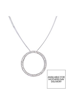 love-diamond-sterling-silver-6-point-diamond-circle-pendant