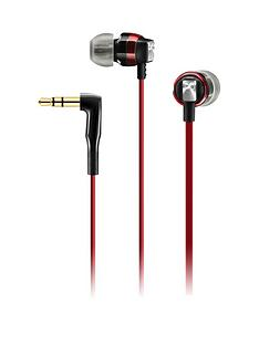 sennheiser-ear-canal-headphones-red