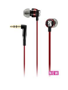 sennheiser-ear-canal-headphones-red