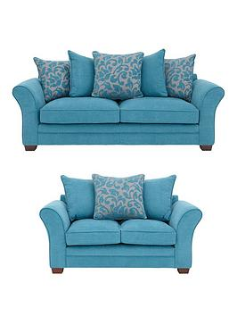 Bronte 3-Seater+ 2-SeaterFabric Sofa Set (Buy and SAVE!)