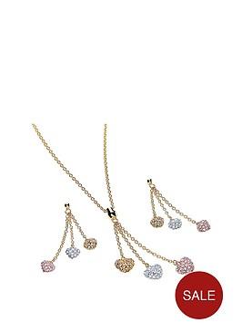 buckley-london-crystal-3-colour-heart-drop-pendant-ampnbspearring-set