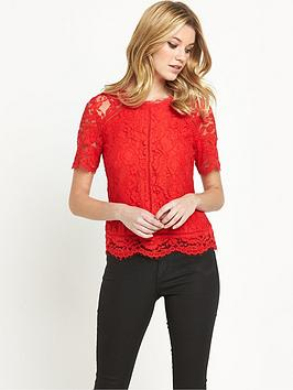 v-by-very-lace-top