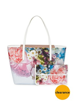 ted-baker-printed-leather-shopper-with-clutch