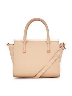ted-baker-crosshatch-leather-grab-bag