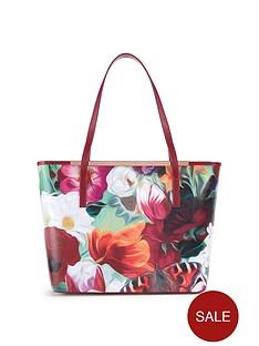 ted-baker-floral-swirl-crosshatch-shopper