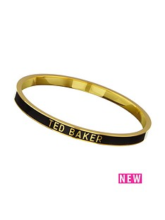 ted-baker-enamel-logo-bangle