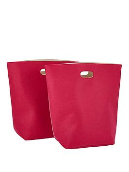 pack-of-2-felt-storage-bags-pink