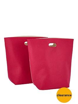 pack-of-2-felt-storage-bags-pink