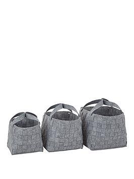 set-of-3-felt-storage-baskets-grey