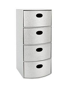 glitter-4-drawer-chest-silver