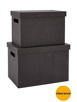 glitter-set-of-2-lidded-boxes-black