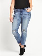 Rip & Repair Skinny Jean