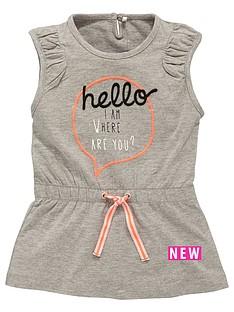 name-it-print-front-jersey-dress