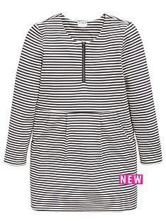 name-it-girls-long-sleeve-stripe-dress