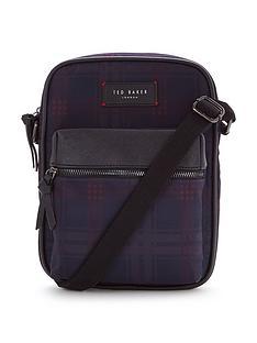 ted-baker-ted-baker-printed-check-flight-bag