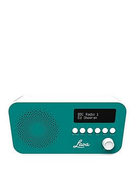 lava-dab-radio-teal