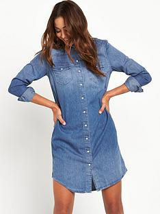 levis-long-sleeve-iconic-western-dress