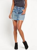Icon Denim Skirt