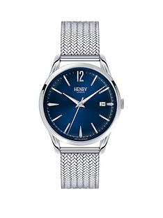 henry-london-henry-london-knightsbridge-navy-blue-dial-stainless-steel-silver-mesh-bracelet-mens-watch