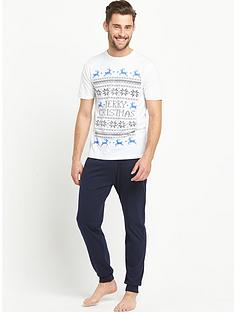 goodsouls-2-pack-fairisle-christmas-nightwear-tee