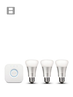 philips-hue-ambiance-wireless-lighting-led-colour-changing-e27-edison-screw-starter-kit