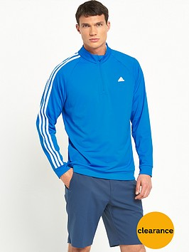 adidas-golf-3-stripe-14-zip-top
