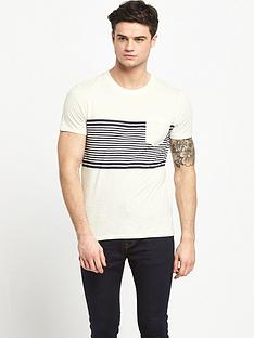 selected-selected-stripe-tee